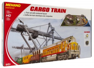 VLAK GARNITURA Z MAKETO CARGO TRAIN T113