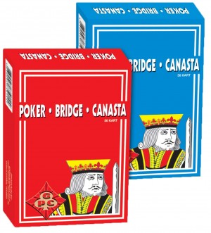 KARTE POKER - BRIDGE - CANASTA 1011155