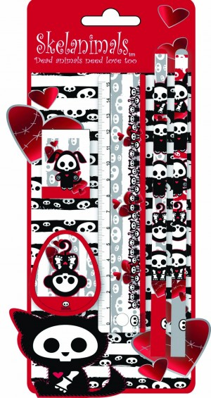SET SKELANIMALS 5/1 BLISTER 11-0684